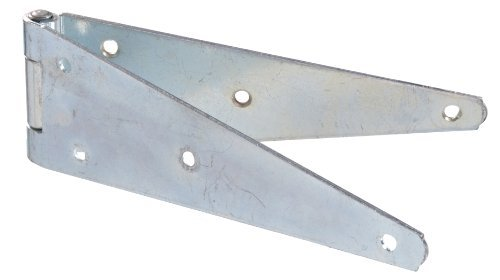 Amazon.com: Hillman Hardware Essentials 851671 Heavy Duty Strap Hinges Zinc 6