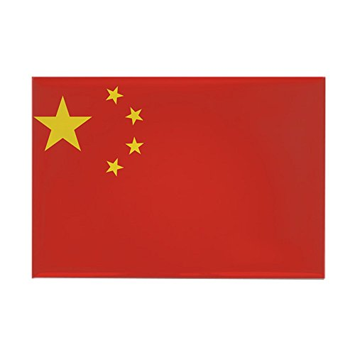 CafePress Flag Of China Rectangle Magnet, 2