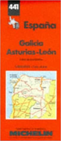 Map Of North West Spain.North West Spain Michelin Maps Amazon Co Uk Michelin Travel