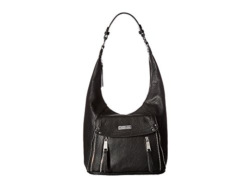 Jessica Leather Hobo Bag - 1