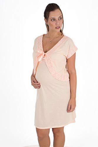 Camisola maternidade alcinha bolerinho malha