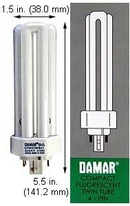 (Case of 30) Triple Twin Tube Compact Fluorescent Lamps | CFM32W/GX24Q-3/841 32 Watt Triple 4-Pin 4100K GX24Q-3 Base
