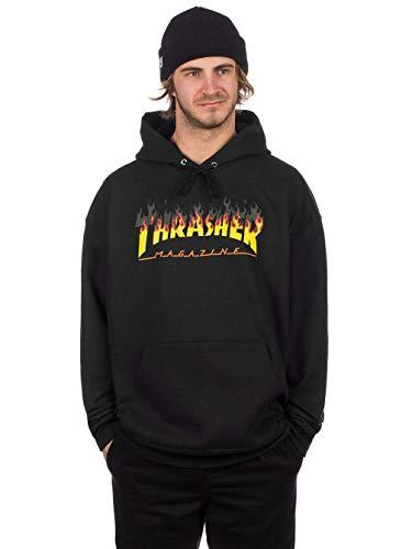 Thrasher BBQ (Black) Hoodie-XLarge (Thrasher Tattoo)