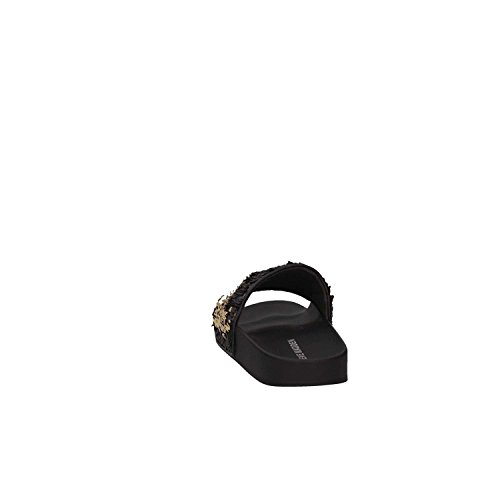 Black Sandals Sequins Steve Madden Slide Black 8RIwI5zWaq