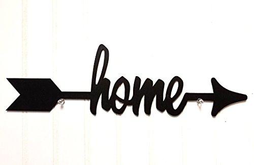 Home Wood Arrow Black 18