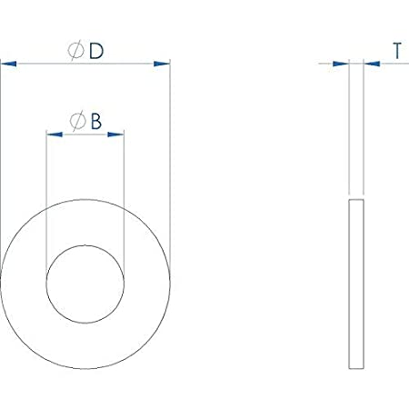 0.080 inch Thickness, FullerKreg 3//8 x 1 OD Stainless Flat Fender Washers,1 Outside Diameter ,18-8 304 25 Pack Stainless Steel