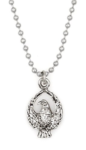"21.6"" 2.4mm Stainless Steel Ball Chain Necklace Eagle (BC 30N)"