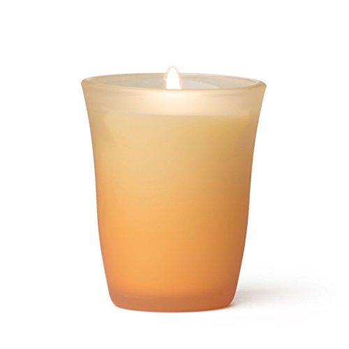 rareEarth Colored Glass Spa Candle Awaken