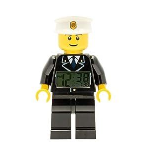 LEGO Despertador con luz Infantil con figurita de policía City 9002274 1