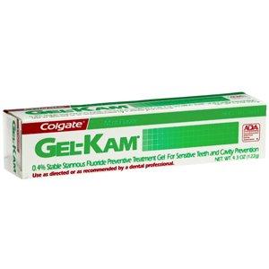 PACK OF 3 EACH GEL-KAM .4% MINT 122GM PT#126019293 by Marble - Preventive Gel Mint Treatment Fluoride