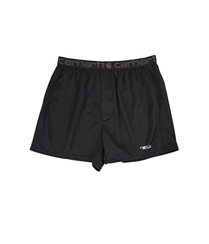 Carhartt Men's Base Force Extremes Lightweight Boxer, Black, X-Large