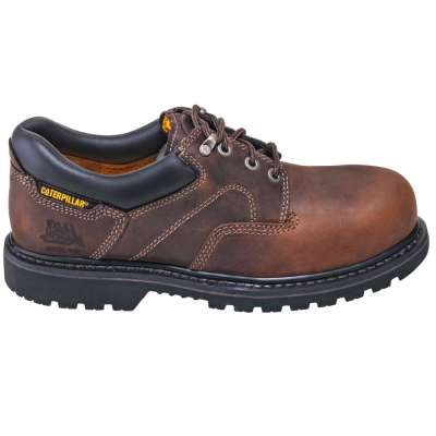 Caterpillar 89702 Men's Ridgemont Steel-Toe EH Brown Oxford Shoe