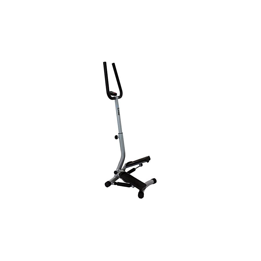 iLIVING Mini Twist Stepper with Handle Bars