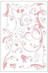 BasicGrey Clear Stamps, 2 Scoops/Heart Smudge