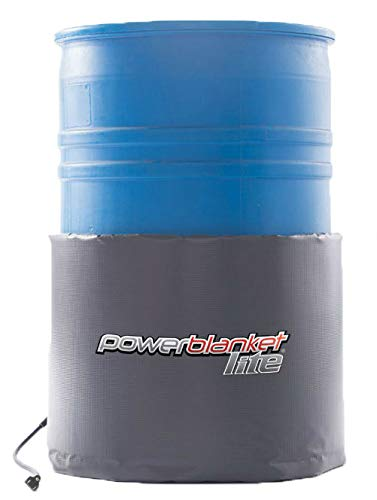 Powerblanket Lite PBL30 30-Gallon Insulated Drum Heater - Barrel Heater w/Fixed Thermostat 145 °F ()