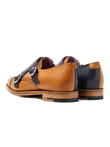 Barker Women's Charlotte Leather Two Buckle Shoe (718724)