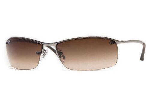 376f3fa2bd79 ... where to buy ray ban sunglasses rb 3183 top bar 004 13 gunmetal brown  fade 63mm