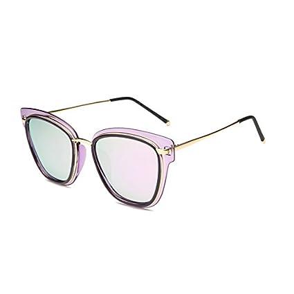 Fygrend Luxury Gafas de Sol polarizadas de Mujer de Marca HD TR90 vidrios de Sun Gato