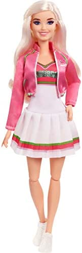 """Zombies Disney's 2, Addison Wells Doll (11.5-inch) Wearing Cheerleader Outfit and Accessories, 11 Bendable """"Jo"""