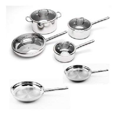 BergHOFF EarthChef Boreal Stainless Steel 10-piece Cookware