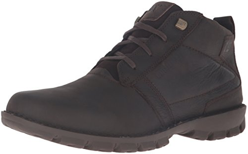 Caterpillar Men's Elston Waterproof Chukka Boot, Black Coffee, 12 M US