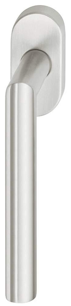 Drehkipp-Fenstergriff Edelstahl Fensterolive Form WH2171 Drehkipp-Rasterolive ohne Schlie/ßzylinder Fenster-Olive mit 90/°-Rasterung f/ür Drehkippfenster Messing PVD beschichtet 1 St/ück