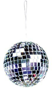 "4"" Mirror Balls from Rhode Island Novelty"