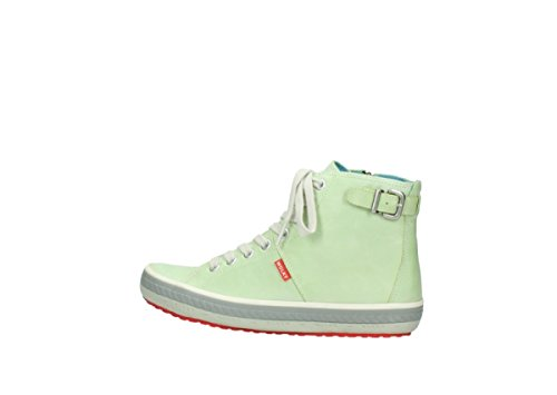 1225 Womens 375 Trainers Wolky Lime Biker Leather F65CZqw