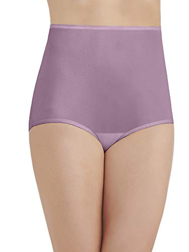 Vanity Fair Women's Perfectly Yours Ravissant Tailored Brief Panty 15712, Serene Mauve, Large/7