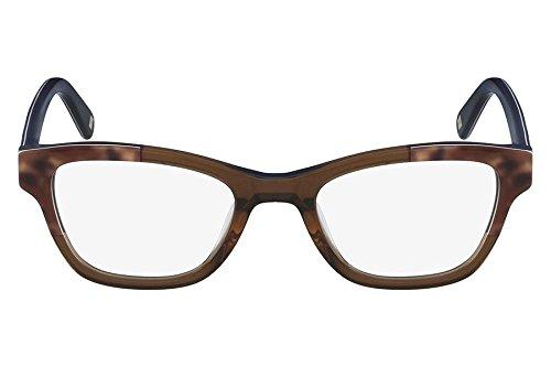 ba539bc56720f Óculos de Grau Nine West Nw5126 211 50 Marrom Leopardo