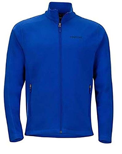 Marmot Ess Tech Jacket Full Zip Fleece Jacket, Variety (M, Blue) (Marmot Fleece Jacket)