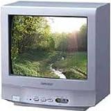 """SHARP 14D2G 14"""" CRT Multisystem TV 220 Volts"""