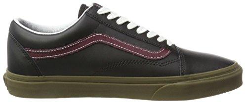 Chaussures Skool Vans Homme Running de Noir Bleacher Old pPqxnTE
