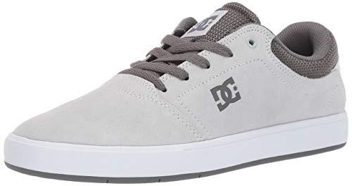 DC Men's Crisis Skate Shoe Black/Grey, 7.5 M - Crisis Pack