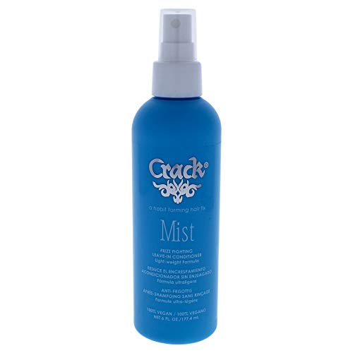 Crack Mist Leave In Conditoner and Styling Aid 6 Oz NEW