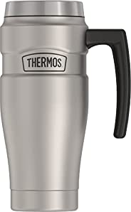 Thermos Stainless King 16-Ounce Travel Mug with Handle
