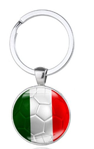 (Italy Keychain Souvenir Gift. 2018 World Cup - Great Gift For Men & Women, Him or Her)