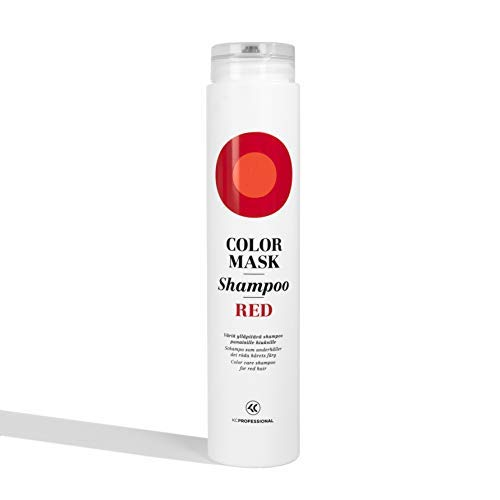 Color Mask Shampoo Red - Color Depositing Shampoo for Red Hair - Sulfate Free & Vegan - 6.76 oz