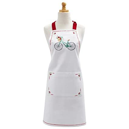 Amazon Com Sur La Table Bicycle Kitchen Apron A03143 Home