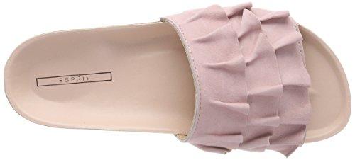 Pink Lisa Mules Rose Femme Slide Esprit pastel YPqw8x