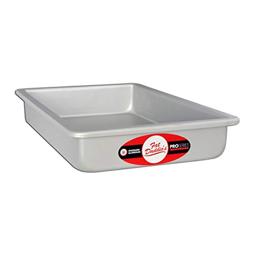 Fat Daddios Anodized Aluminum Sheet Cake Pan, 7 Inch by 11 Inch by 2 Inch
