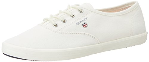 Gant New Haven, Zapatillas para Mujer Blanco (White G29)