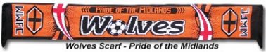 (Wolves Football Scarf)