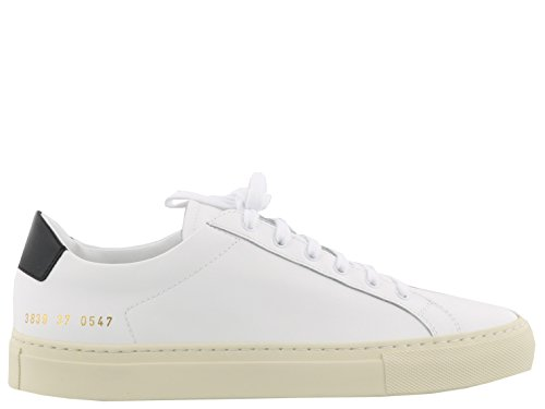 Common Projects Women's 38390547 White Leather Sneakers