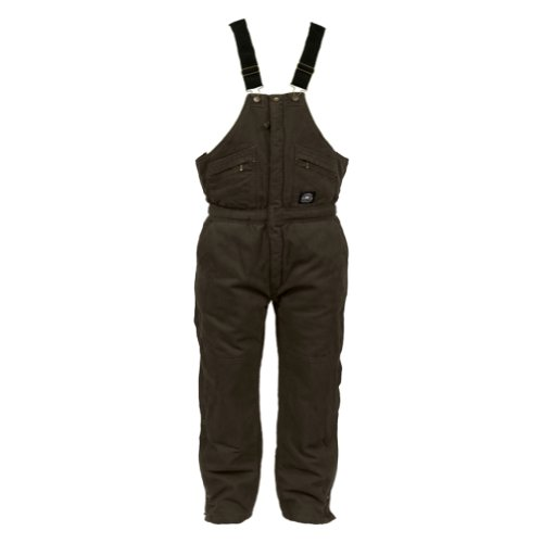 Polar King Premium Brushed Washed Insulated Duck Bib Overalls