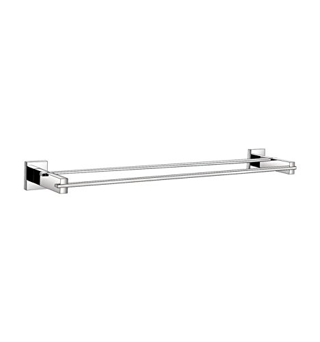 Aqua Korsa 24'' Wall Mounted Double Towel Bar by Kube Bath