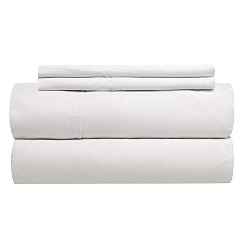 Gotcha The Classic Collection American Leather Comfort Sleeper White Cotton Percale Sheet Set Queen Plus White