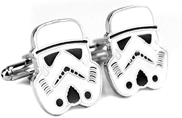 KHQM Cuff Star Wars Pin Stormtrooper Gemelo Pin Star Wars Darth ...