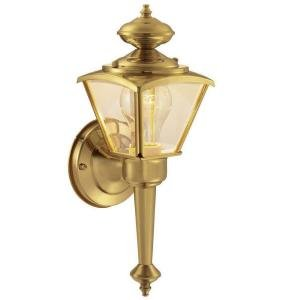 Brass Outdoor Light - 5