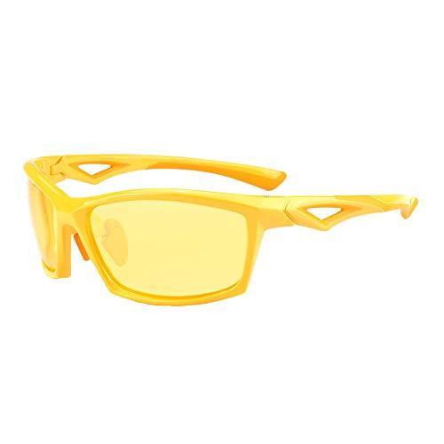 Hombre Sol Drivering Mujeres Hombres Gafas A Gafas C HD de KOMNY UV400 de polarizadas ¡Caliente cuadradas para de Sol Photochromic protección Gafas cuadradas Gafas xvOUO1qwFY